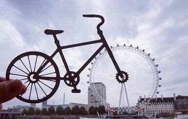 当剪纸遇到摄影:英国小哥玩坏全世界标志建筑