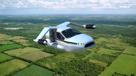 """丰田这次真的要上天了  """"飞行汽车""""申请了一个专利"""