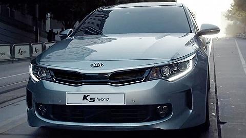 东风悦达起亚想用K5混合动力版这款车打破日系垄断
