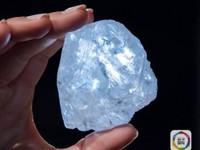 像网球那样大!世界第二大钻石原石苏富比流拍