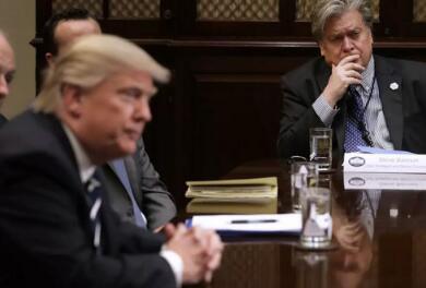 班农就《火与怒》向特朗普及家人表示歉意