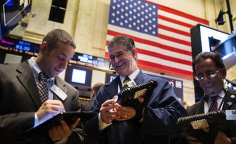美股新闻:道指收涨逾百点至26200点上方 高盛收涨2.11% 美国银行收涨0.69%