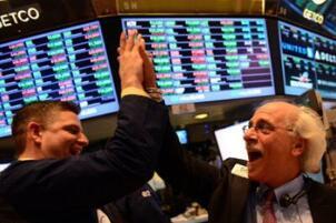 道琼斯指数上涨567点  科技股、基础原材料和消费股领涨