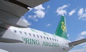 春秋航空:客公里收益同增11.5% 带动业绩一枝独秀