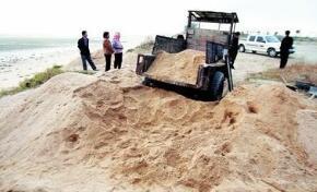 住建部:加强海砂开采运输销售使用管理