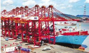 宁波港:预计10月份货物吞吐量同比增9.5%