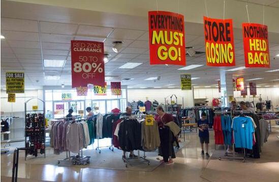 美国12月零售销售创九年最大跌幅 经济降温态势明显