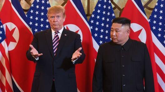 """白宫:第二次""""金特会""""未达成协议 仍期待未来再会面"""