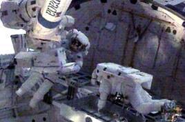 美加宇航员完成今年第三次太空行走
