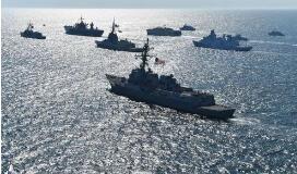 埃及与法国举行海上联合军事演习