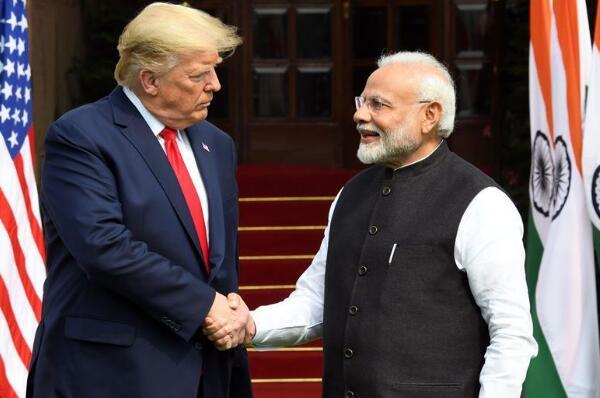 特朗普访问印度