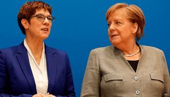 英媒:德国执政党基民盟四月选举新党首
