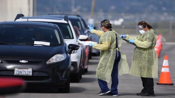 约翰斯·霍普金斯大学说,美国已经有3415人死于新冠病毒